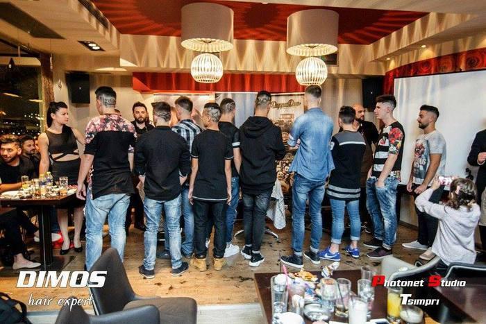 Το κομμωτήριο Dimos Hair Expert συμμετείχε σε event κομμωτικής στο Dellagio