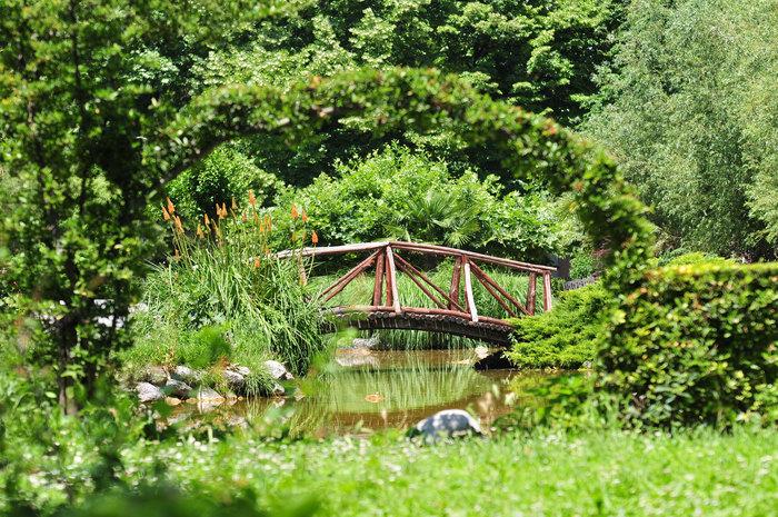 Φυσικές ομορφιές: Το δημοτικό πάρκο στο κέντρο της Νάουσας - Γεφυράκι [0m]