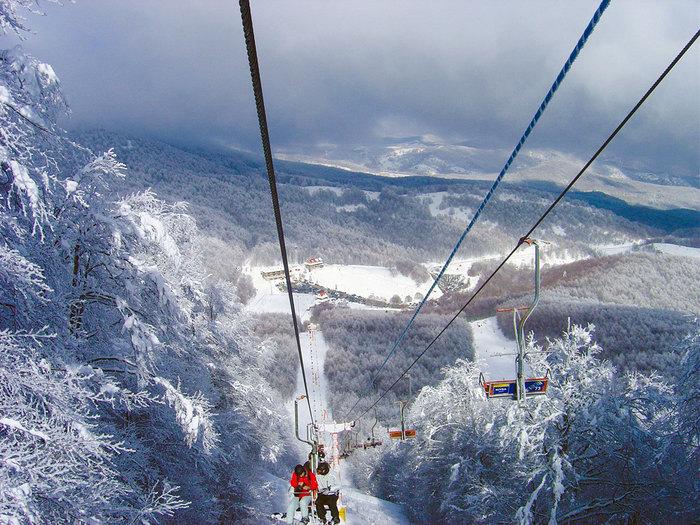 Χειμερινά σπορ: Χιονοδρομικό κέντρο 3-5 Πηγάδια στη Νάουσα - Lift [18km]